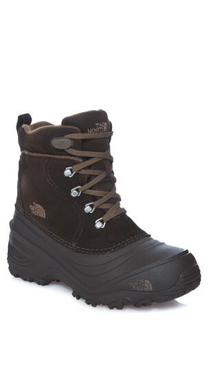 The North Face Chilkat Lace II Shoes Youth demitasse brown/cub brown